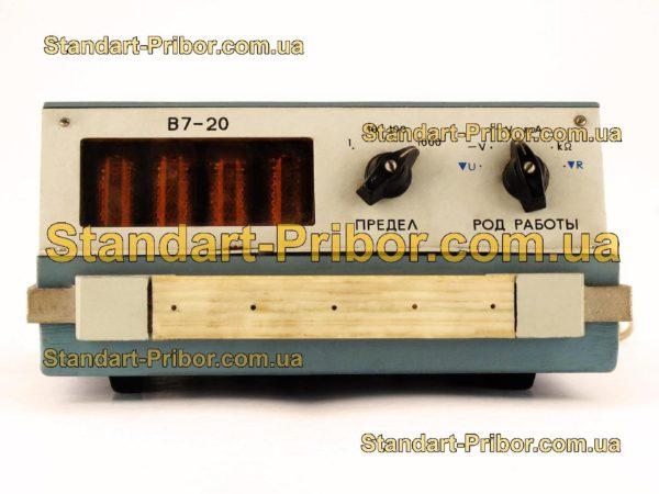 В7-20 вольтметр - изображение 2
