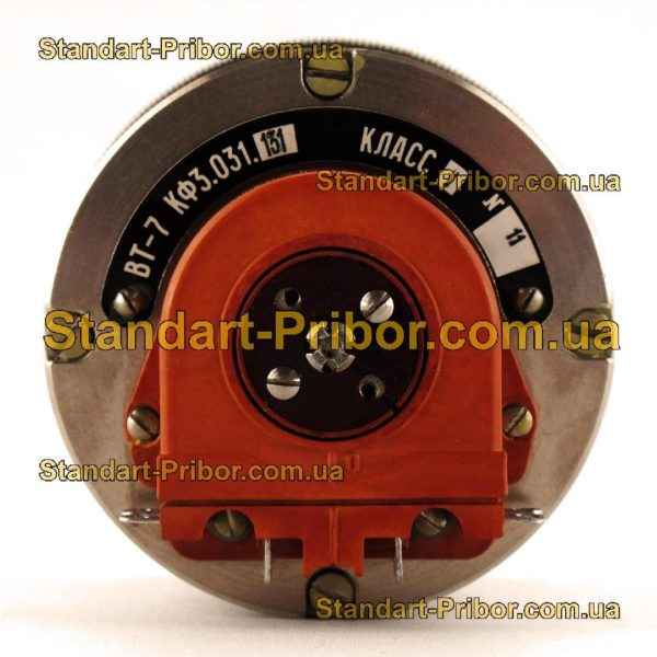 ВТ-7 КФ3.031.131 кл.т. 2 трансформатор вращающийся - фото 6